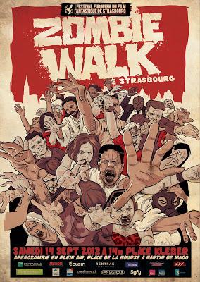 affiche zombie 2013