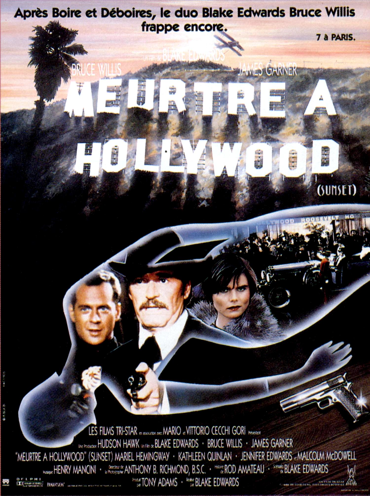 Meurtre à Hollywood affiche
