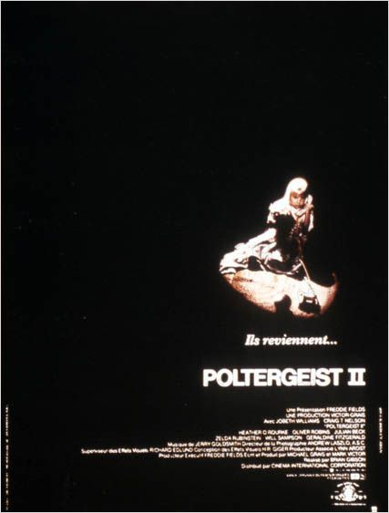 Poltergeist IIPoltergeist II: the other side1986Réal. : Brian Gibson