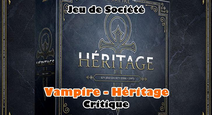 Vampire – Héritage