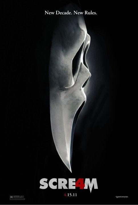 Scream 4 New Poster