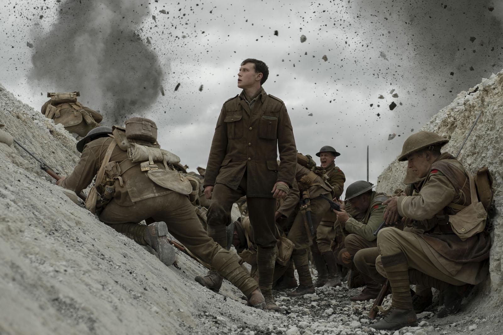 1917 – La Guerre en Plan-Séquence
