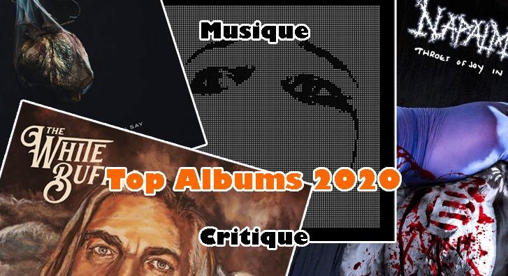 Top 70 Albums 2020