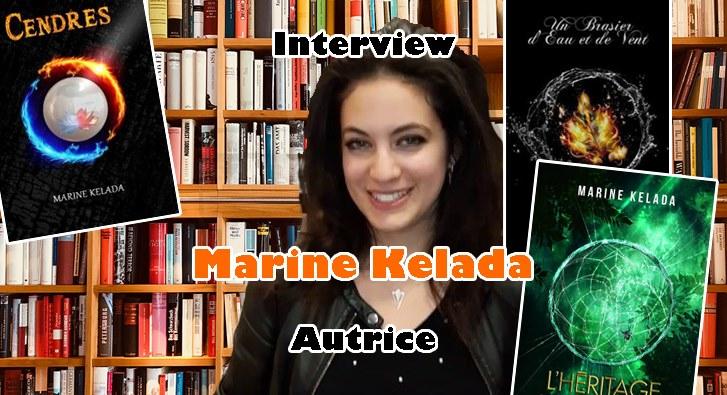 Interview – Marine Kelada – Autrice