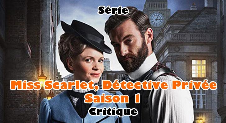 Miss Scarlet, Détective Privée Saison 1